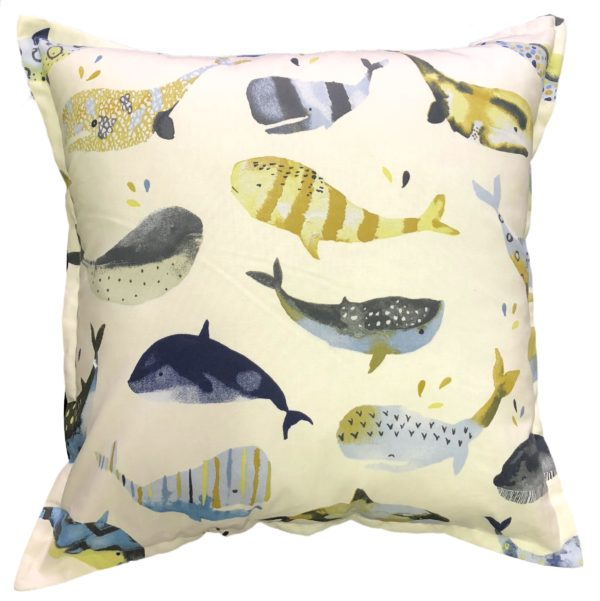 Whales Scatter Cushion