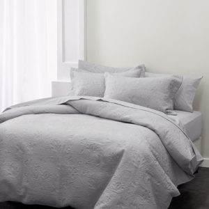 Linen House Chantel Quilt Grey